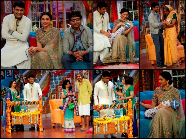 Piku Promotions On Comedy Nights With Kapil