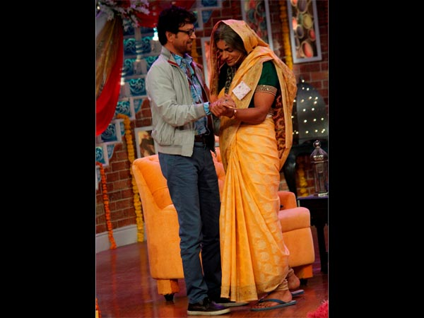 Irrfan And Bittu's Mother-In-Law