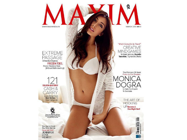 Maxim Cover March 2013