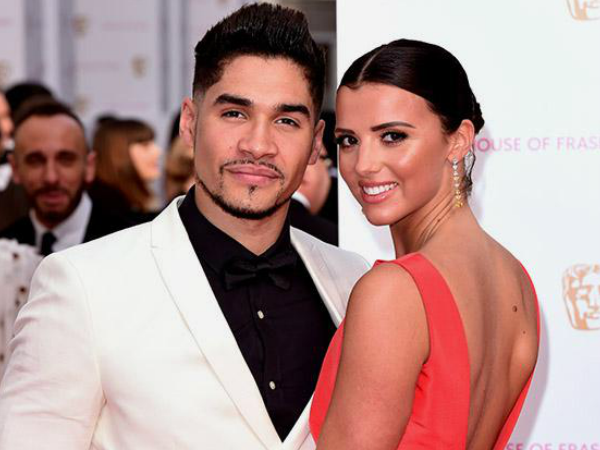 Louis Smith and Lucy Mecklenburgh At BAFTA TV Awards
