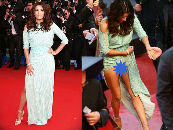 most embarrassing wardrobe malfunctions at cannes red