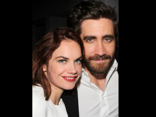 Jake Gyllenhaal & Ruth Wilson's Reportedly Spotted Kissing After Workout