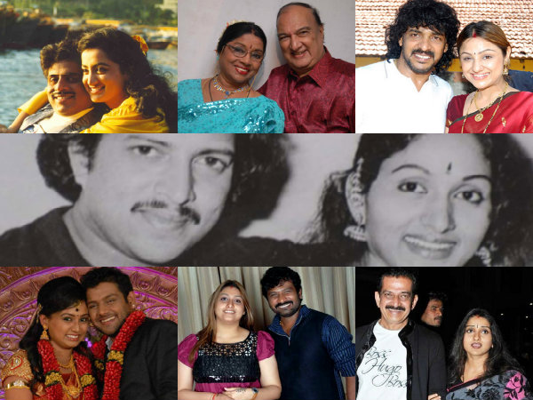 sandalwood heros who marries their heroines sandalwood actors real