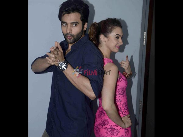 Jackky Bhagnani and Lauren Gottlieb