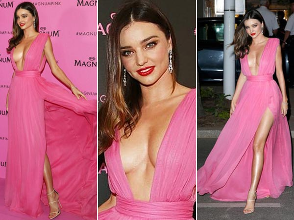 Cannes 2015: Miranda Kerr Suffers Wardrobe Malfunction