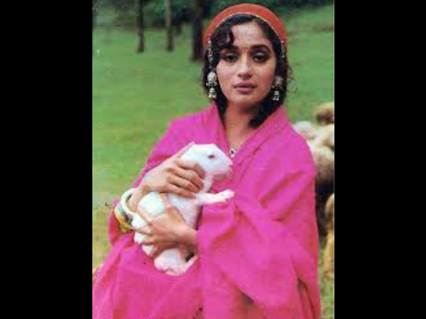 Madhuri In A Kashmiri Look