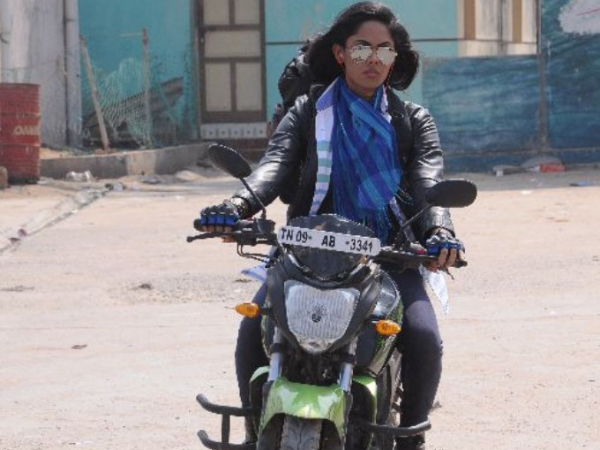 Karthika The Stunt-Woman
