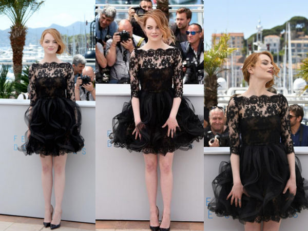 Emma Stone Cannes 2015
