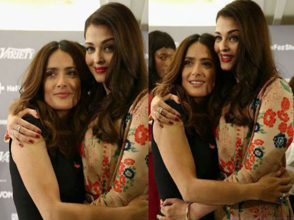 Aishwarya and Salma