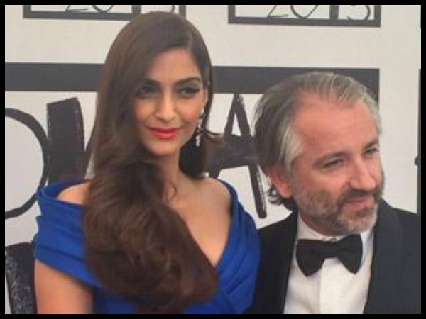 Sonam With Chapuy Cyril