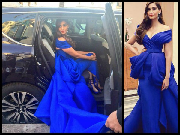 Sonam Leaving For Cannes