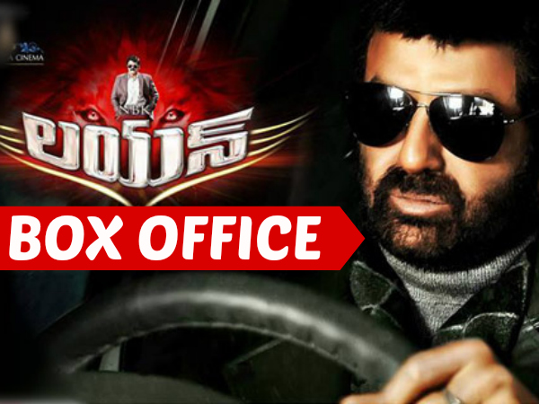 box office balakrishna 39 s lion first weekend collections filmibeat. Black Bedroom Furniture Sets. Home Design Ideas