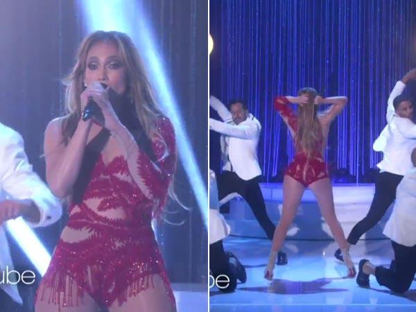 Ellen Degeneres Tickets >> Jennifer Lopez Booty-Full Performance On The Ellen Show, Talks 'Single' Status - Filmibeat