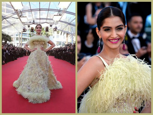 Sonam On Red Carpet