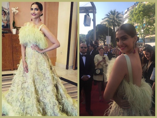 Sonam Towards Paparazzi