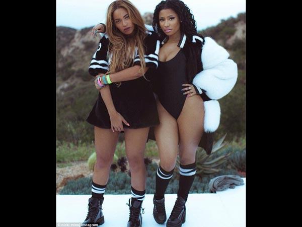 Nicki Minaj And Beyonce Feeling Myself Video Youtube