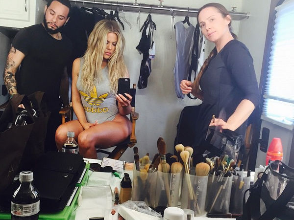 Khloe Kardashian Butt Photo Shoot
