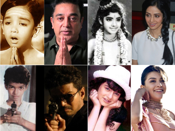 Famous Tamil Child Artists | Child Artists Who Became Famous