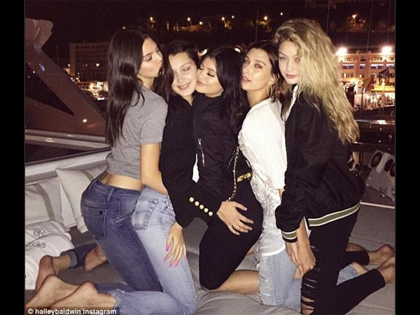Gigi Hadid Licks Kendall While Bella Grabs Her Boob In Pics