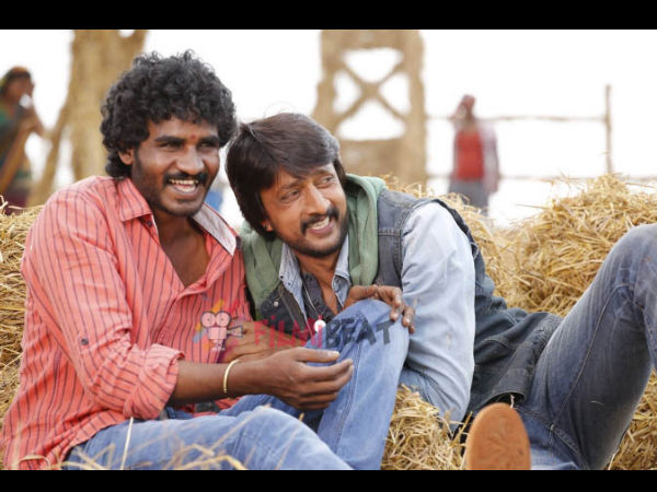 'Ranna' Sudeep Gifts A Car To Chikkanna
