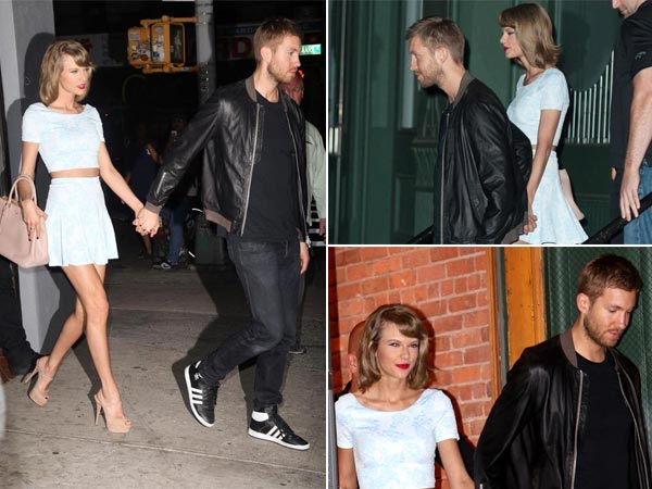 Love Is In The Air: Taylor Swift & Calvin Harris Go On Dinner Date