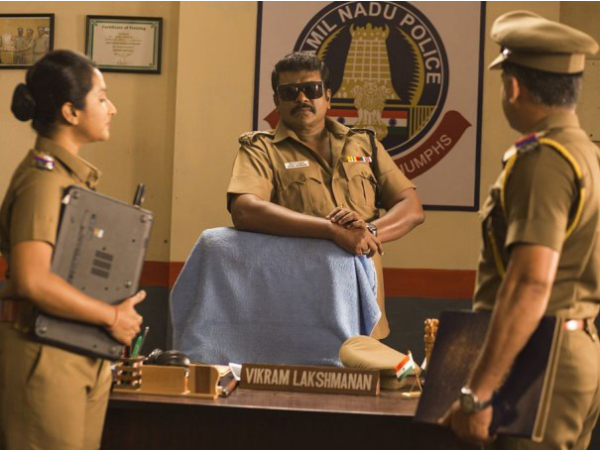 Parthiban As A Cop