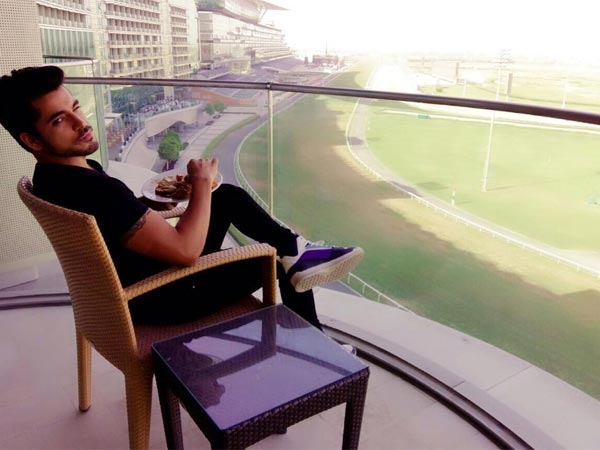 Gautam Gulati Chilling In Dubai Just Before AIBA 2015