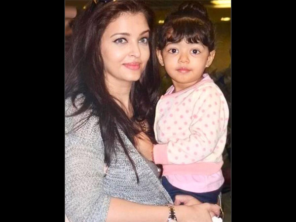Aaradhya With Aish