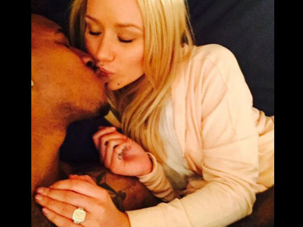 Iggy Azalea Is Engaged To Nick Young, See Her Sparkling Diamond Ring