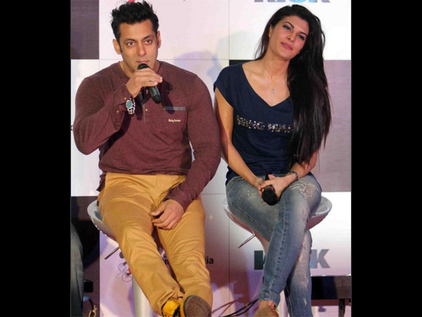 Bollywood Actors Salman And Jacqueline