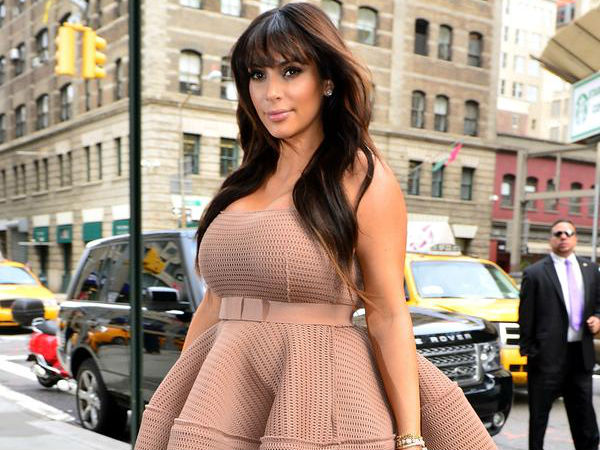 Kim Kardashian West Discusses Pregnancy Clothing & Spanx!