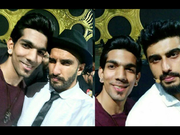 Ranveer-Arjun With Fan