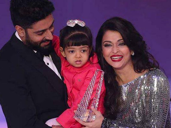 Aaradhya With Parents