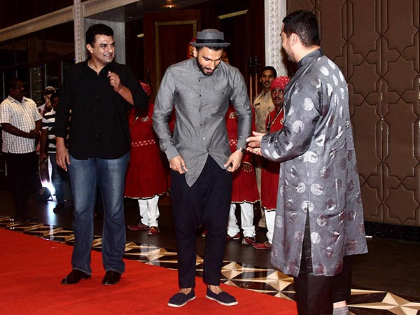 Siddharth, Ranveer And Aamir
