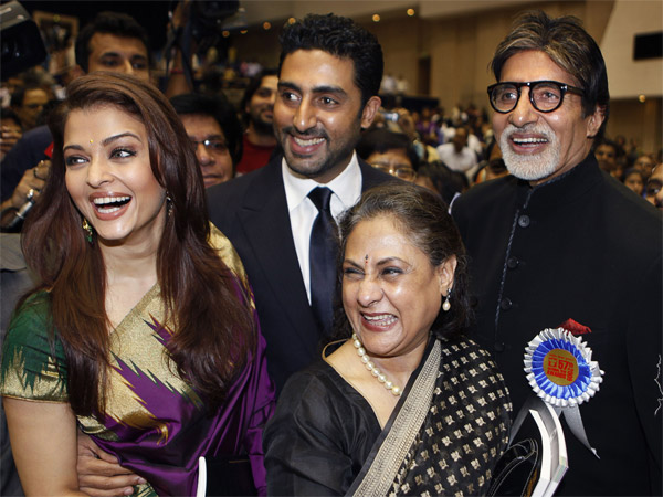 Big B With Family