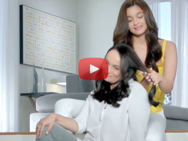 Alia New Ad With Her Mom