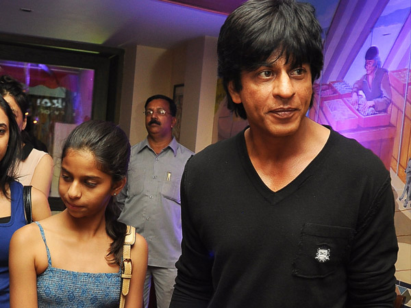 Suhana With Dad