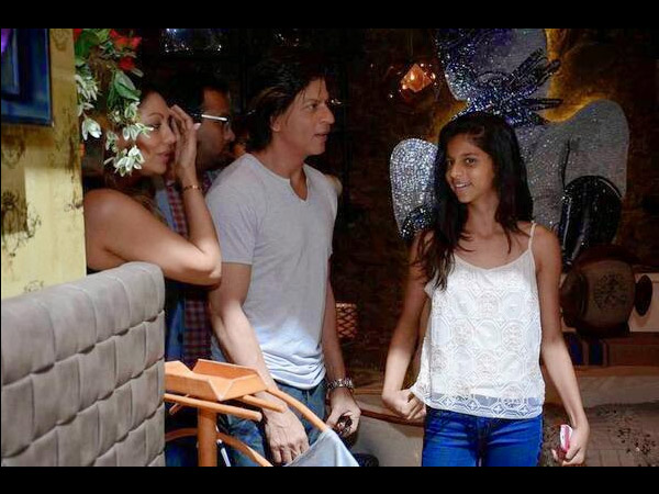 Suhana, Shahrukh And Gauri