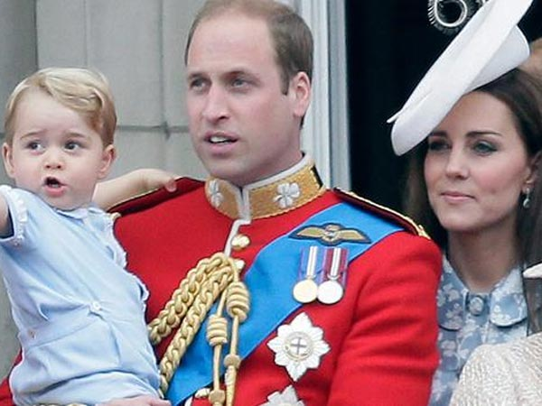 PICS: Prince George & Kate Middleton Enjoy Polo