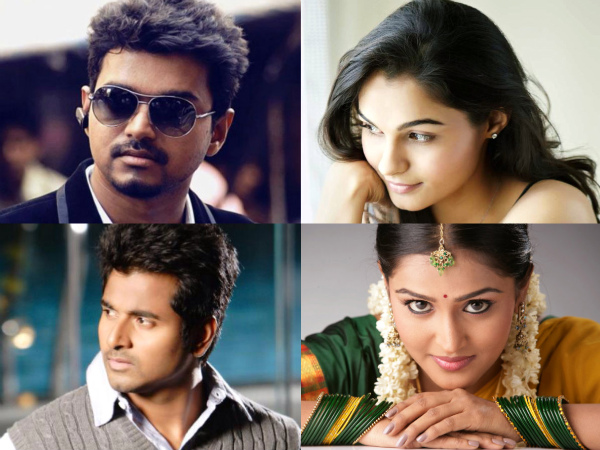 10 Tamil Actors/Actresses Who Are Also Playback Singers!
