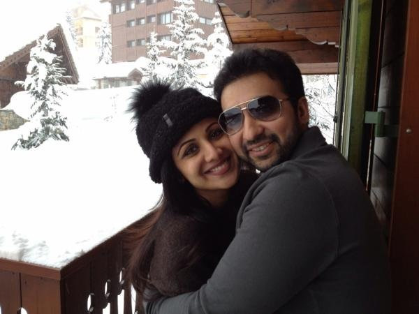 Shilpa With Raj