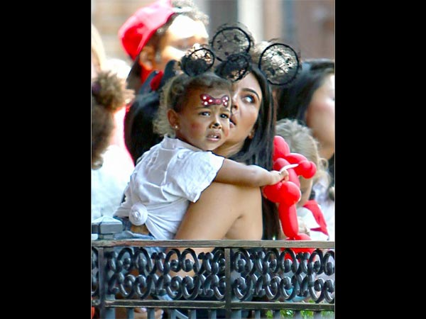 North West Turns Minnie Mouse On Her 2nd Birthday Bash At Disneyland