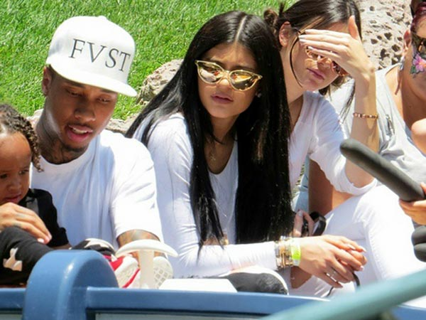Kylie and Tyga's Day Out