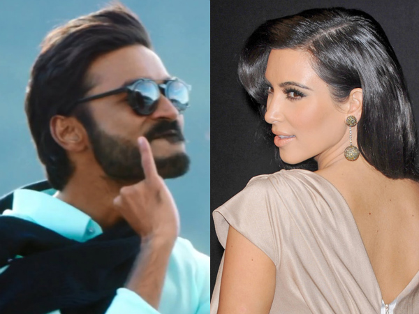 Could It Be Dhanush Opposite Kim Kardashian In India's Dirtiest Film 'For Adults Only'?