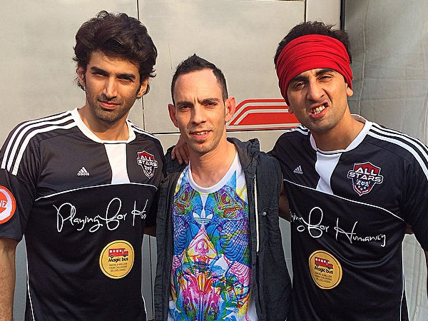 With Ranbir And Aditya