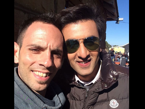 With Ranbir
