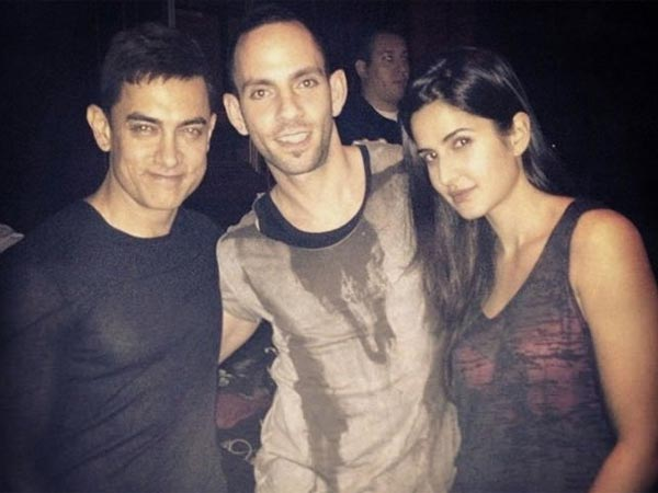 With Aamir And Katrina
