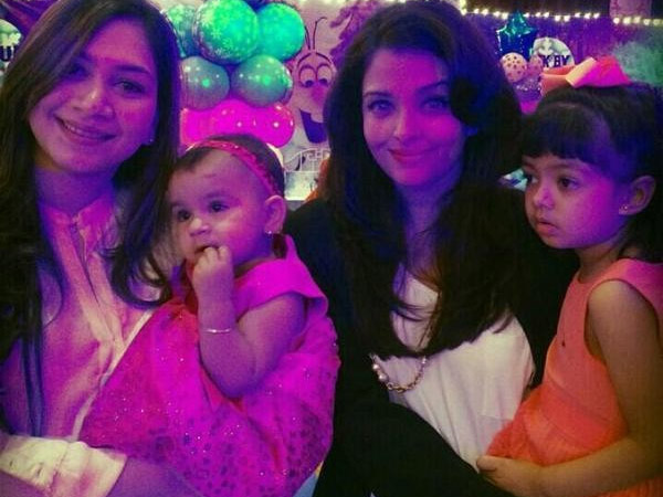 Aaradhya At A Party