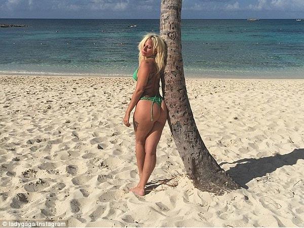 Ready Lady gaga tiny bikini topic