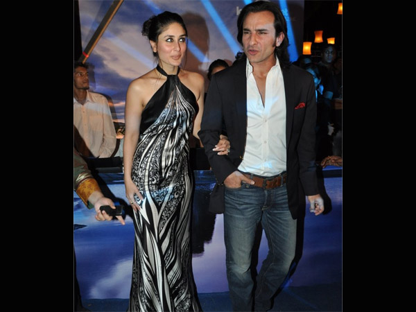 Saif With Wife Kareena